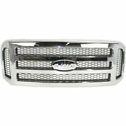 New Chrome Grille For 2005-2007 Ford F-250 F-350 F-450 Super Duty Ships Today