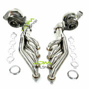 T66 Water Cold Turbos+pair Stainless Steel Headers For Ls1 Ls2 5.3l 5.7l 6.0l