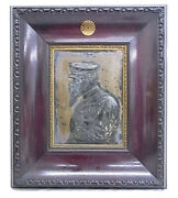 Engraving Portrait Meiji Emperor 1870and039 Japanese Antique Treasure From Warehouse