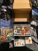 Mister Fantastic And Human Torch Funko Pop- Marvel Collector Corp Exclusive Box