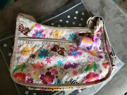 New Lesportsac Tropical Zoo Hobo Crossbody Disney Its A Small World With Charm