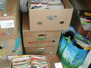Job Lot 100 X 7 Singles - All 1970and039s/1980and039s Bagged Graded G-vg+ Post Free Uk
