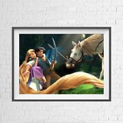 Disney Tangled Rapunzel Animation Poster Picture Print Sizes A5 To A0 New