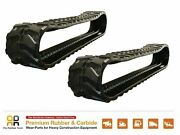 2pc Rubber Track 300x52.5x74 Made For Bobcat 328g Mini Excavator