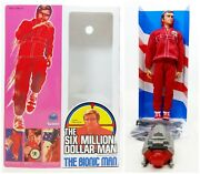 Kenner The Six Million Dollar Man The Bionic Man In Reproduction Box 3