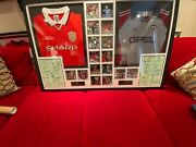 Manchester United Champions League 1999 Signed