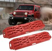 Off Road Traction Ladder Boards With Jack Lift Base 2 Piece Recovery Track Mat