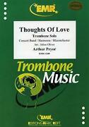 Thoughts Of Love Trombone Solo Concert Band Harmonie Music Set Score And Parts