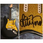 Gfa The Runaways Sexy Lita Ford Signed Electric Guitar Proof L6 Coa