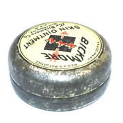 Antique Bickmore Xyz Skin Ointment Salve Advertising Tin W/ Contents - Old Town,