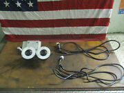 Unit Of 2 Keyence Cv-050 Cameras Ccd Cv050 With 2 Cords Included_great Value_