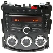 2009-2013 Nissan 370z Climate Control Bose Radio Stereo Cd Player 28185-1ea0b