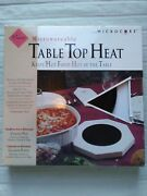 Microwaveable Table Top Heat Plate With Microcore