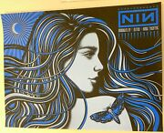 Nine Inch Nails Poster Kings Theatre Brooklyn Ny Slater 10 17 2018 Le 127/250