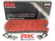 Rk Max-x Red 520 X-ring Made In Japan High Strength Racing Chain