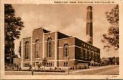 Postcard Power Plant Penna State College State College Pa