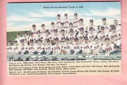 1948 Boston Braves Team Issue Photo Postcard Spahn Rookie