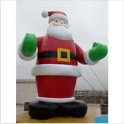 26ft 8m Inflatable Advertising Promotion Giant Christmas Santa Claus Free Fan Ss