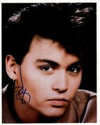 Johnny Depp Signed Autographed Photo