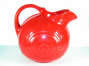 Deco Red Plastic Water Pitcher