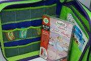 Leapfrog Leap Pad Learning System Lot 13 Books 8 Cartridges Ages 4-7 Homeschool