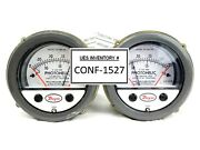 Dwyer 3001-24vac-tamp W30g Photohelic Pressure Switch/gauge Series 3000 Lot Of 2