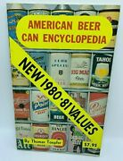 American Beer Can Encyclopedia 1980 Thomas Toepfer - Price Guide From The 1980s