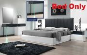 Ireland Modern 1 Pc Bedroom Queen Cal King Est King Size Bed Headboard W Leather