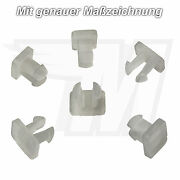 30x Door Fairing Gaskets Plastic Clip For Mercedes Benz Audi A0019882478