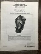 New Survivair Opti-fit Gas Mask Respirator 7730 Plus A Cbrn Canister