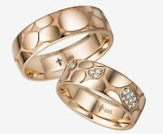 Giloy Wedding Rings With 25 Diamonds 020ct - 585er Rosandeacute White Red Or Yellow