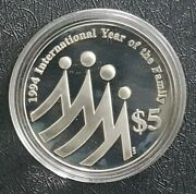 1994 Singapore Sliver Proof International Yand039r Command039tive Coin+free 1 Coind9102