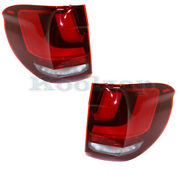 For 14-18 Bmw X5 Outer Taillight Taillamp Rear Brake Light Stop Lamp Set Pair