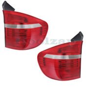 Fits 07-10 Bmw X5 Outer Taillight Taillamp Rear Brake Light Stop Lamp Set Pair