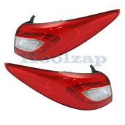 For 14-15 Tucson Outer Taillight Taillamp Rear Brake Light Tail Lamp Set Pair