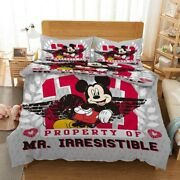 Mickey Mouse Cape 3d Printing Duvet Quilt Doona Covers Pillow Case Bedding Sets