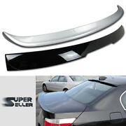 Fit For Bmw E60 5 Series A Type Rear Roof + Boot Trunk Spoiler 04-10 Paint Combo