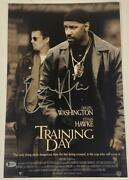 Ethan Hawke Signed 12x18 Photo Training Day Authentic Autograph Beckett Coa