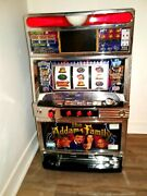 The Addams Family Japanese Slot Machine Led Screen Wth Coin Tokens Addams Family