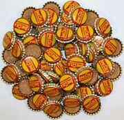 Soda Pop Bottle Caps Lot Of 100 Lime Cola Cork Lined Early One New Old Stock