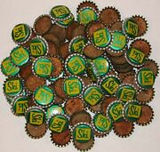 Soda Pop Bottle Caps Lot Of 100 Ski Cork Lined Unused And New Old Stock