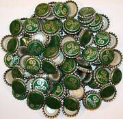 Soda Pop Bottle Caps Lot Of 100 Uptown Heart Picture Plastic Lined New Old Stock