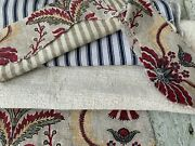 Antique Vintage French Fabrics Materials Reworking Project Bundle Sewing Pack