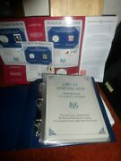 Genuine Pcs Great Americans Honored On U.s. Coins And Stamps Collection Must S