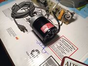 Complete Dayton 1/7 Hp Ac-dc Series Motor With Power Supply, Controller And Timer
