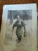 Antique Vintage Unframed Print Ignorance Is Bliss By E.w. Kemble