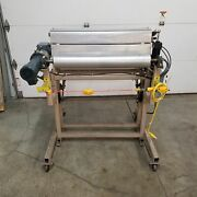 Irwin Research And Development Model 28 Type Ns-rh Motorized Rolling Winding Stand