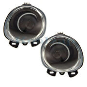 For 00-02 Bmw X5 3.0l/4.4l/4.6l Front Driving Fog Light Lamp Assembly Set Pair