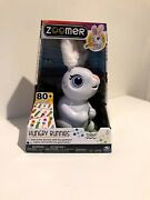 Zoomer Hungry Bunnies Chewy Ages 5+ Easter Bunny Toy.new In Box