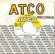 The Precisions Into My Life / Don't Doublewith Trouble On Atco Records